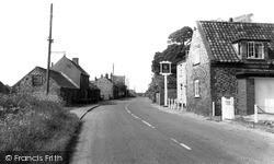 North Creake, Main Road c.1955