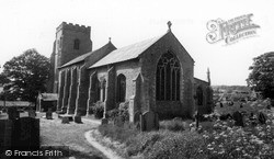 North Creake, St Mary's Church c.1955