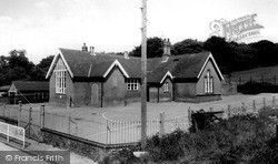 North Creake, Village School c.1955
