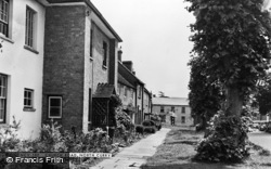 North Curry, Church Road c.1955