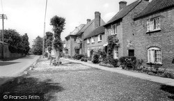 North Curry, Church Road c.1960