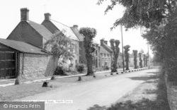 Church Road c.1960, North Curry
