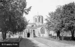 Parish Church c.1960, North Curry