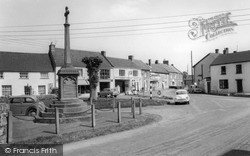 North Curry, Queen Square c.1960