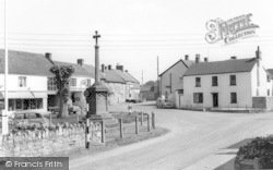 Queen Square c.1960, North Curry