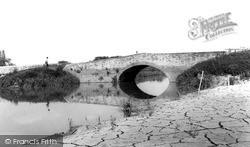 River Tone Bridge c.1960, North Curry
