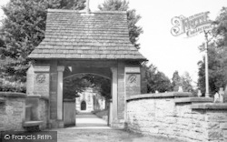 North Curry, The Lychgate c.1955