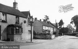 North Curry, The Pavement c.1955
