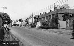 North Curry, The Pavement c.1960