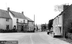 North Curry, The Square c.1960