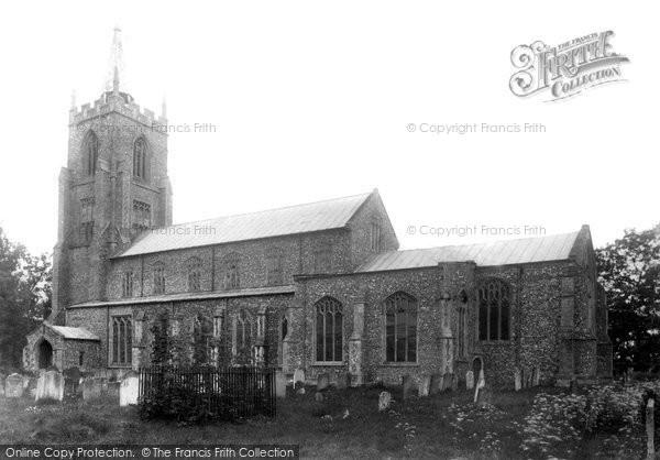 Photo of North Elmham, St Mary's Church 1901