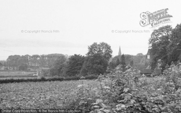Photo of North Ferriby, From Swanland Hill c.1955