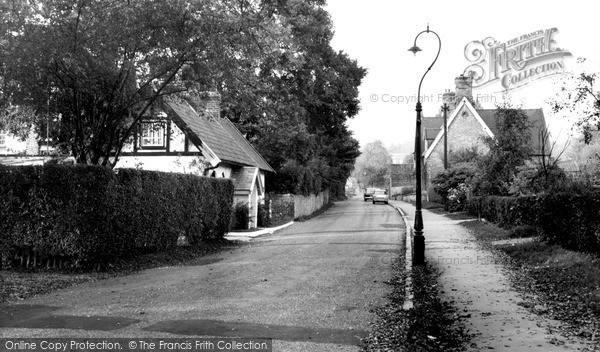North Ferriby, Station Road c1965