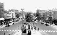 North Finchley, High Road c1960