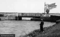 Fishing At The Bridge c.1955, North Frodingham