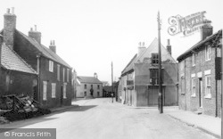 The Post Office And Cross c.1955, North Frodingham