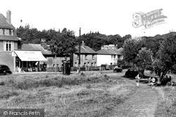 North Holmwood, Church Walk c.1955