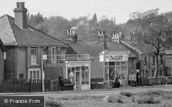 North Holmwood, Shops Near The Pond c.1955