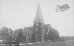 North Holmwood, St John's Church 1890