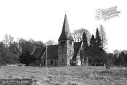 North Holmwood, St John's Church c.1955