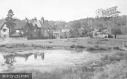 North Holmwood, The Pond c.1955