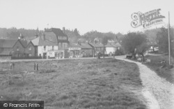North Holmwood, The Village c.1955