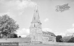 North Luffenham, The Church c.1960