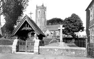 North Molton, All Saints Church c1955