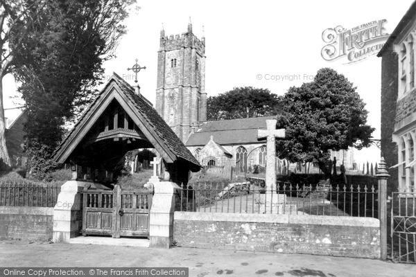Photo of North Molton, All Saints Church c1955
