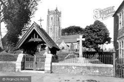 All Saints Church c.1955, North Molton