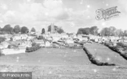 General View c.1955, North Molton