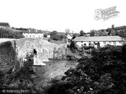 The Old Bridge c.1955, North Molton
