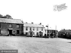 The Square c.1955, North Molton