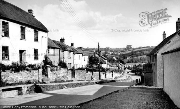 Photo of North Molton, The Village c.1955