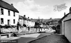 The Village c.1955, North Molton
