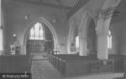 North Moreton, Church Interior c.1950