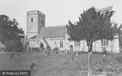 North Moreton, The Parish Church c.1950