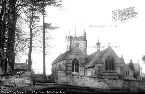 North Nibley, Church 1900
