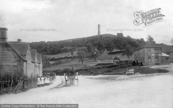North Nibley, the Tyndale Monument 1897