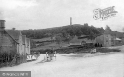 North Nibley, The Village And The Tyndale Monument 1897