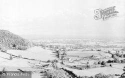 North Nibley, View From Nibley Knoll c.1950