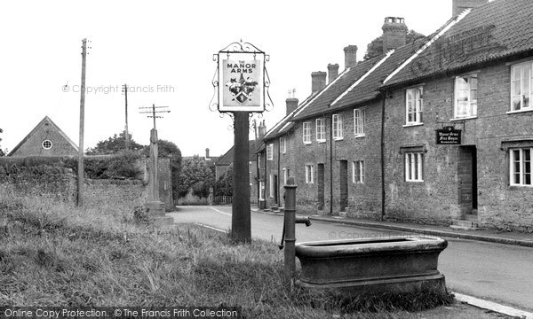 North Perrott, the Village c1955