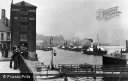 North Shields, River And New Quay c.1930