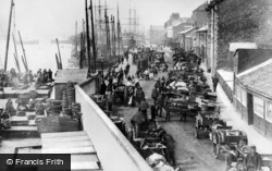 North Shields, The Fish Quay c.1895