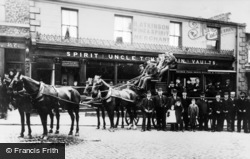 Uncle Tom's Cabin, Bedford Street c.1895, North Shields