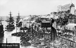 North Shields, Union Quay c.1890