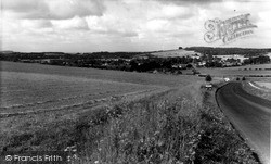 North Tidworth, From Ludgershall Road c.1965