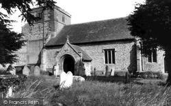North Tidworth, Holy Trinity Church c.1965