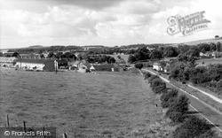 North Tidworth, Ludgershall Road c.1955