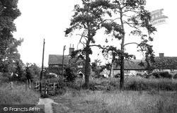 North Tidworth, The Footpath c.1955